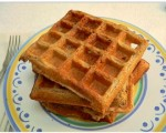 Oatmeal Blender Waffles Recipe