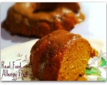 Two Ingredient Pumpkin Bread with Apple Cider Glaze