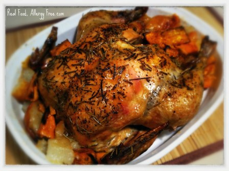 How long to cook whole chicken in crock pot