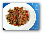 Skillet Meal: Pizza Rice