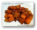Cinnamon Sweet Potato and Apple Bake
