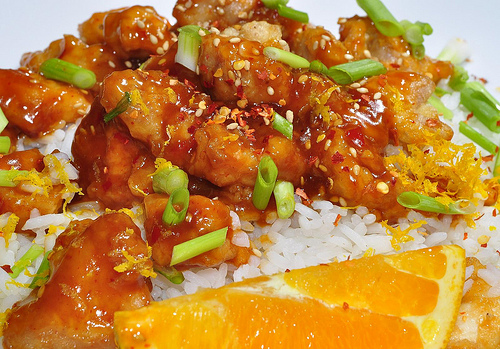 Gluten free orange chicken in the crock pot we love chinese food in fact we eat at a local chinese buffet just about every sunday afternoon while they do have a few grilled items and fresh fruit forumfinder Choice Image