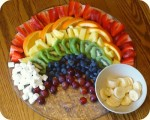 Make a Fruit Rainbow for St. Patrick's Day!