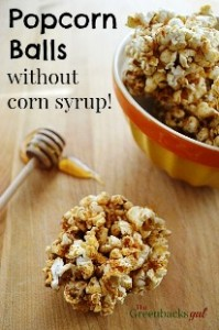 Sweet and Spicey Popcorn Balls - Dairy Free, NO Corn Syrup