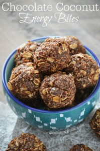 Chocolate Energy Bites - Gluten Free, Nut Free
