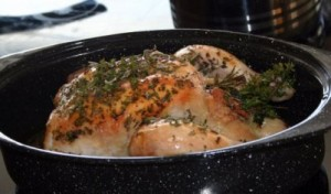 Moroccan Lemon and Herb Roasted Chicken - Allergy Friendly
