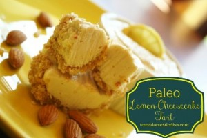 Paleo Lemon Cheesecake Tart