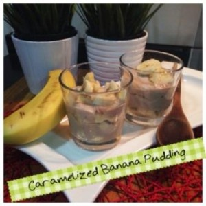 Carmelized Banana Pudding - Dairy Free
