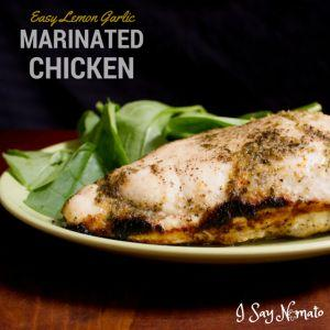 Easy Lemon Garlic Chicken Marinade - soy free