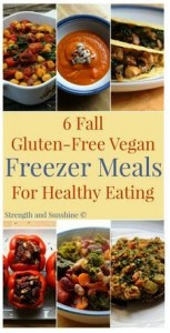 6 Fall Gluten-Free, Vegan Freezer Meals for Healthy Eating