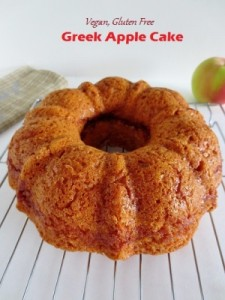 Apple Cake - Vegan, Gluten Free, Nut Free