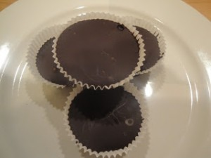 Chocolate Sunflower Seed Butter Cups - gluten free, dairy free, nut free, vegan, allergy free